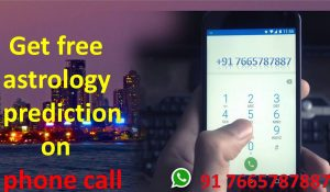Get free astrology prediction on phone call by specialist Baba ji for black magic | Call +91 7665787887